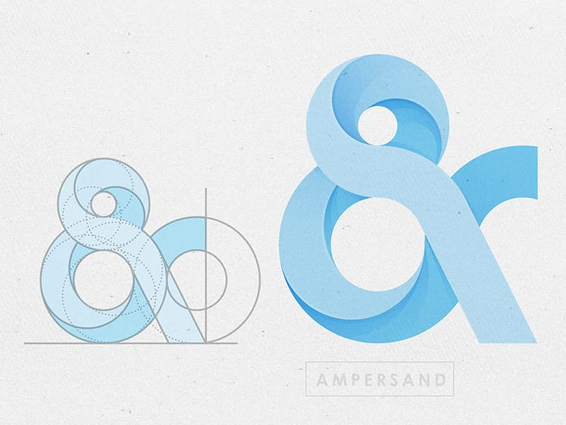Blue Ampersand | Renovia
